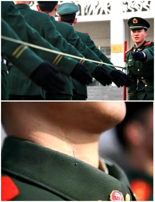Вышколка военных.
