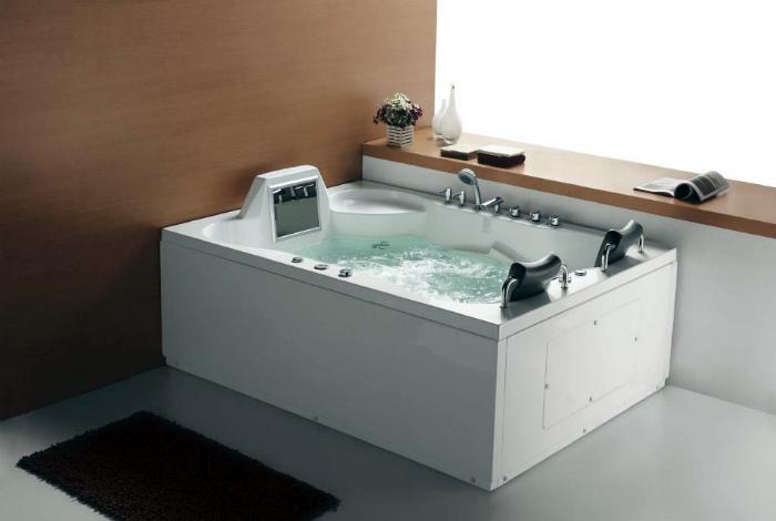 Современная гидромассажная ванна. | Фото: blogm1.
