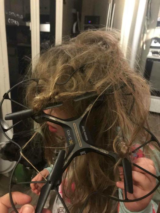 Хаос на голове. | Фото: ifuncle.kr.