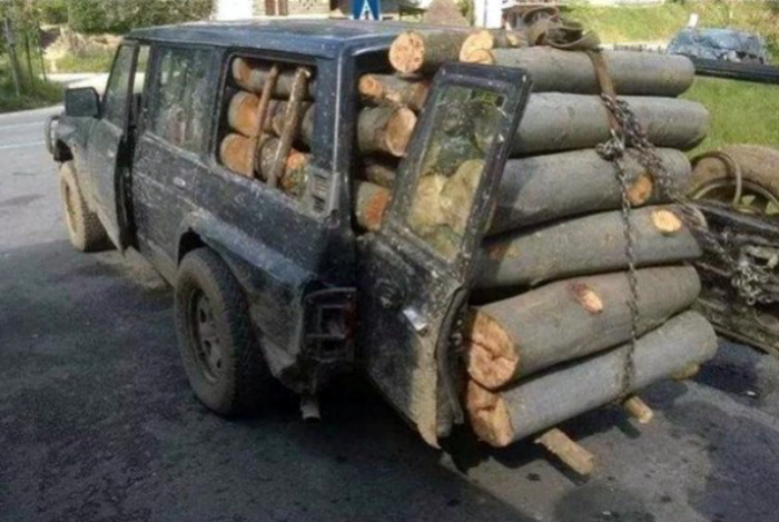 Дрова перешли все границы! | Фото: www.chillout-e.ru.