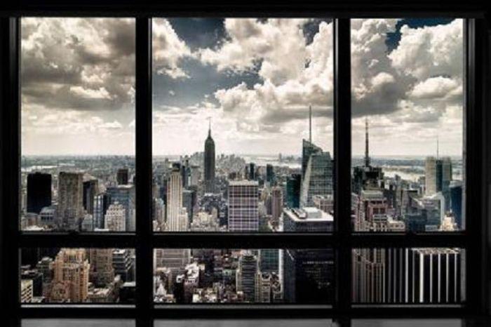 Постер, который позволит каждый день любоваться видом Нью-Йорка.