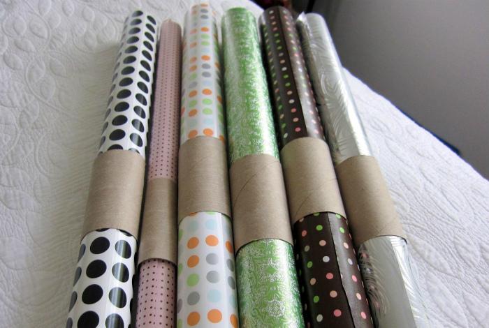 Упаковки для рулонов обоев и оберточной бумаги.