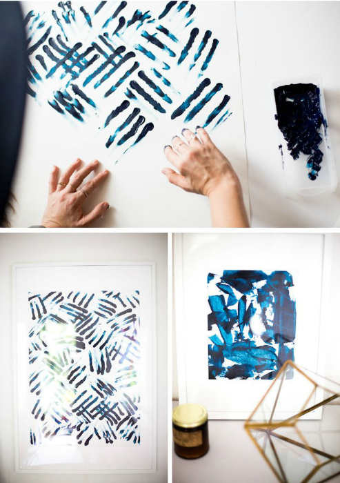 Картины пальцами.