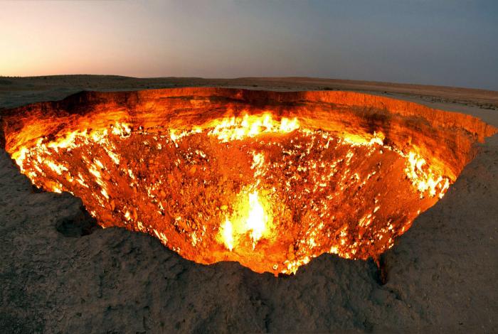 Дверь в преисподнюю, Туркменистан.