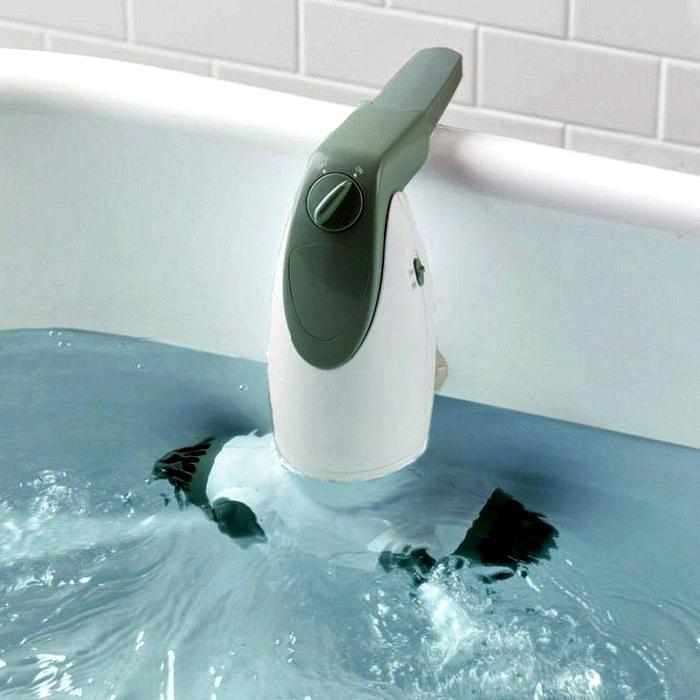 Устройство, которое превратит ванну в джакузи.