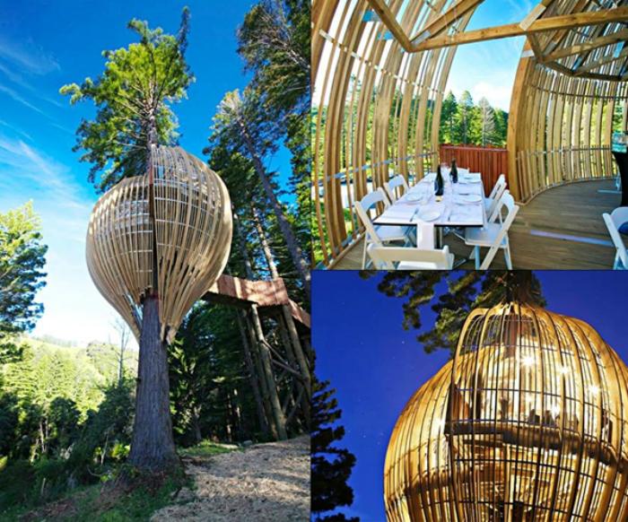 Фантастический ресторанчик на 10-ти метровой высоте.