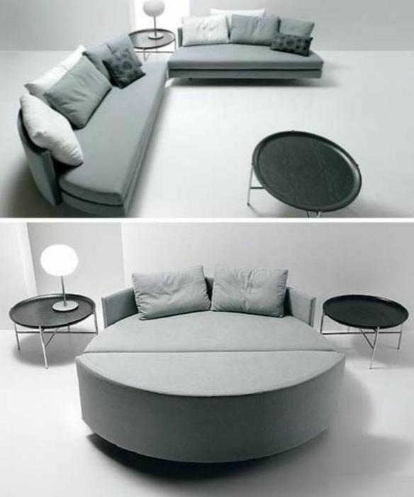 Кровать-диван.