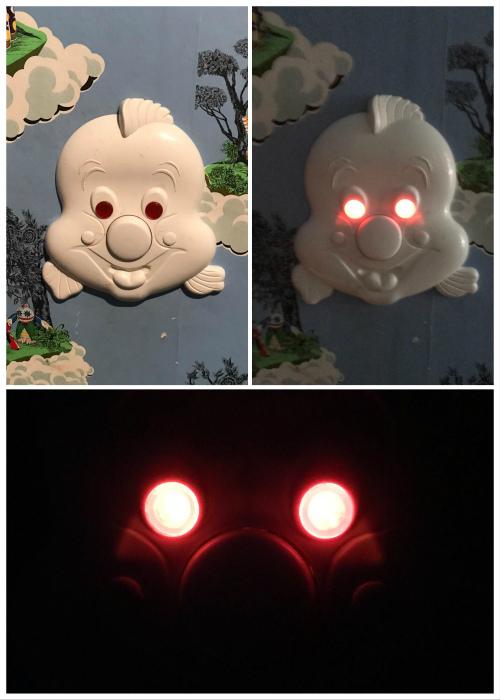 Пугающий ночник. | Фото: hodor.lol.