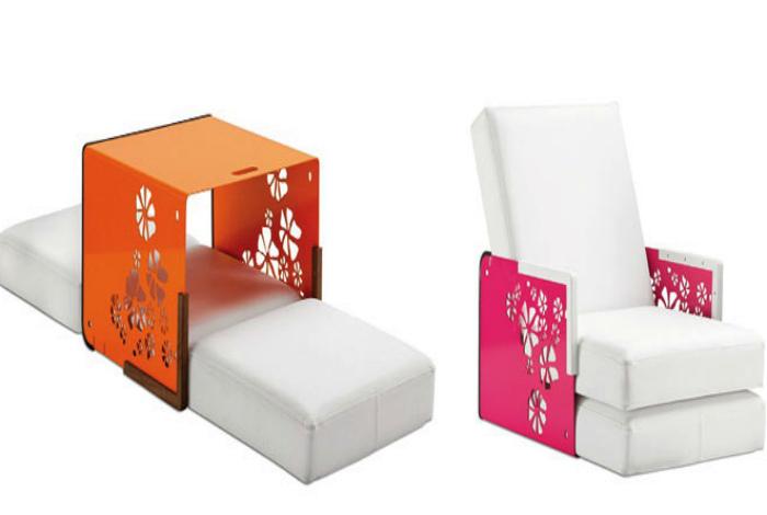 Трансформирующиеся кресло. | Фото: Музей Дизайна.