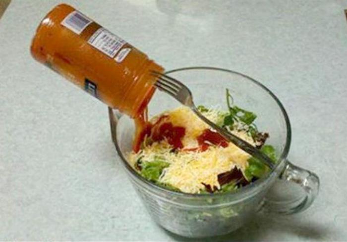 Ленивый лайфхак для кухни.