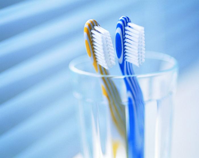Срок использования зубной щетки.