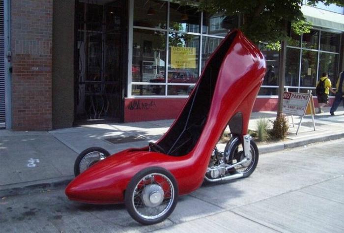 Машина для леди.