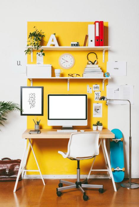 Рабочая зона, выделенная ярким цветом.