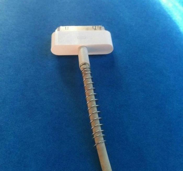 Защита провода от перебивания. | Фото: eldiadehoy.net.