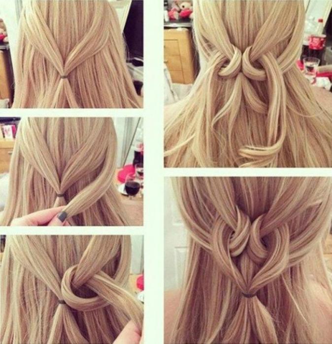Фото красивых и простых причесок на длинные волосы