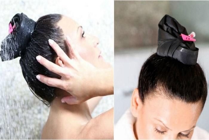 Приспособление для быстрого мытья головы.