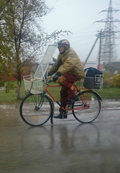 Апгрейд велосипеда.