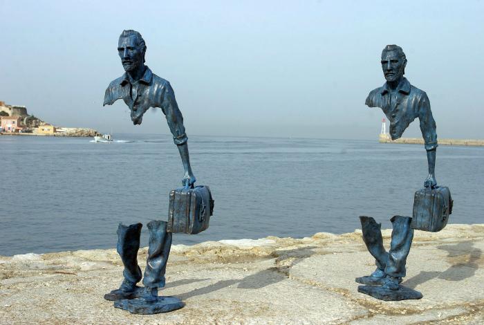 Призрачные скульптуры Бруно Каталано.