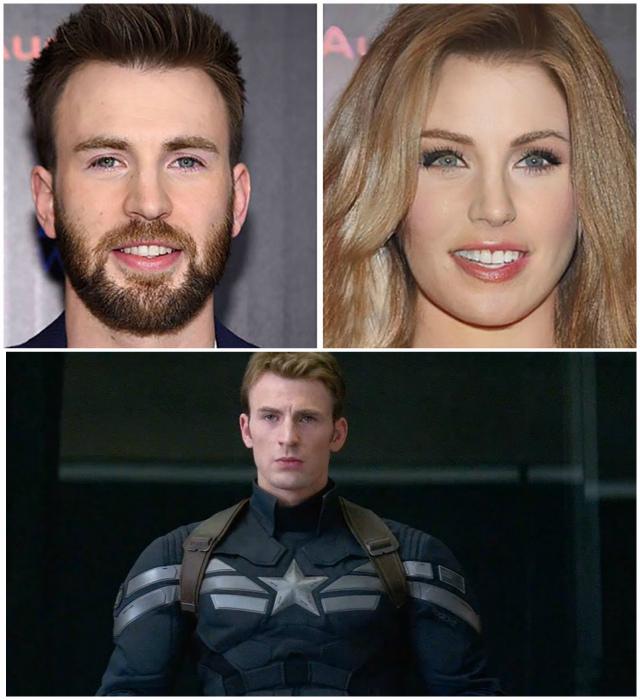 Капитан Америка в исполнении Криса Эванса.