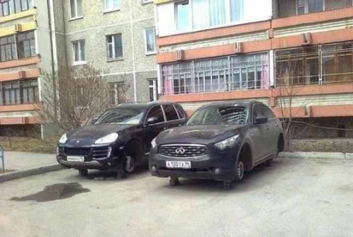 Пахнет новыми колесами. | Фото: notonlyfacts.ru