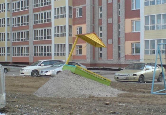 Роскошная песочница. | Фото: LiveJournal.