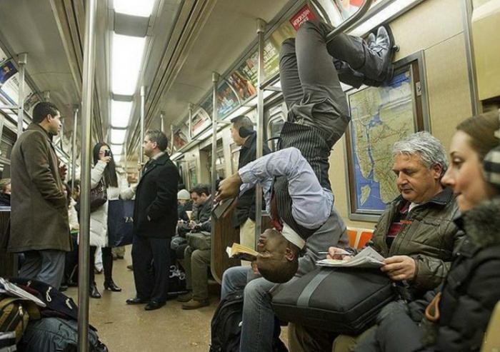 Пассажир метрополитена.