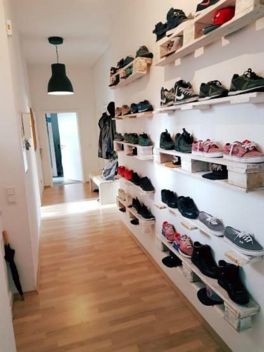 Стеллаж для обуви. | Фото: Bedroom Furniture.