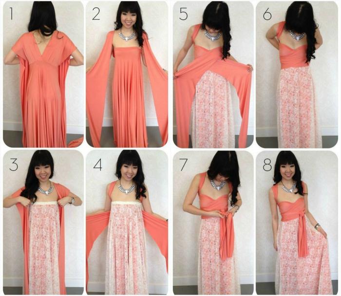 Переделка старой платья