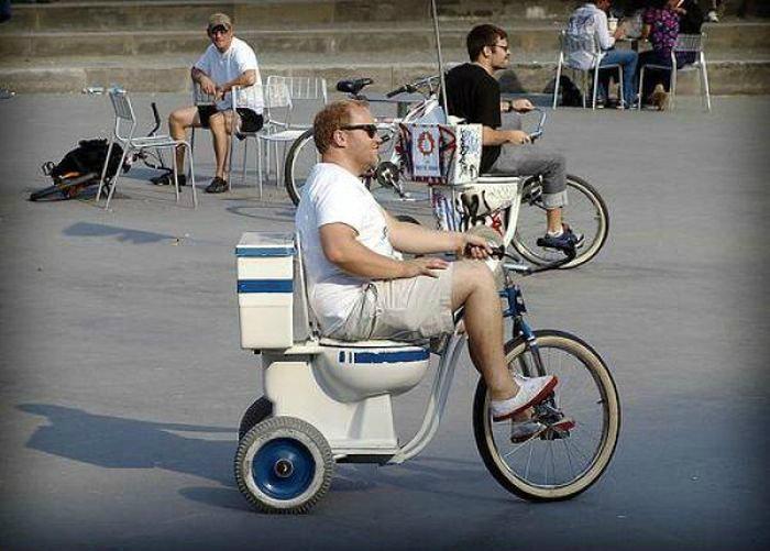 Гениальные велосипеды.