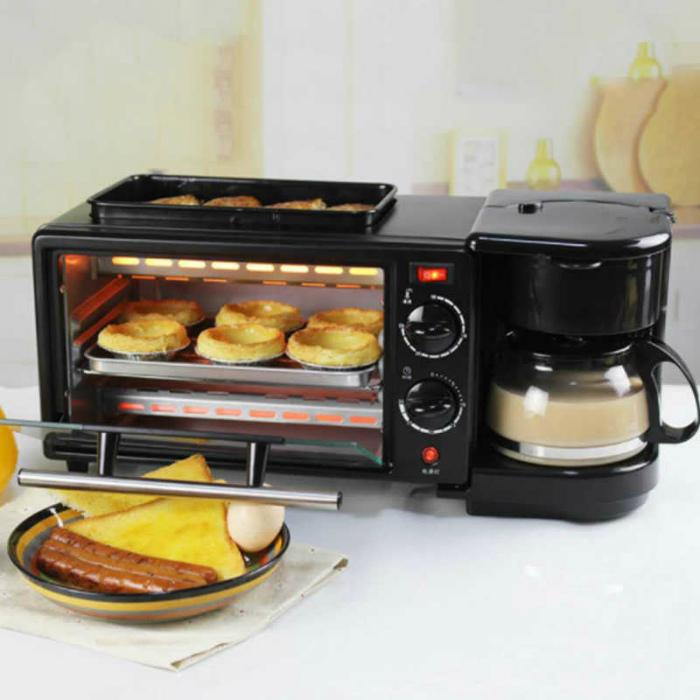 Многофункциональное устройство для приготовления завтрака.