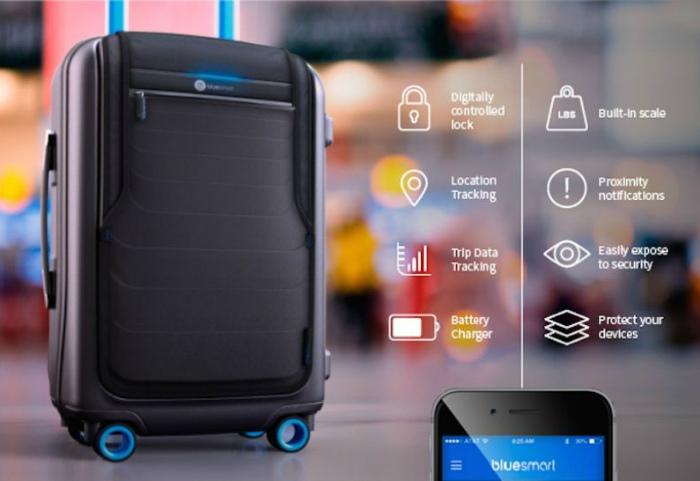 Высокотехнологичный чемодан.