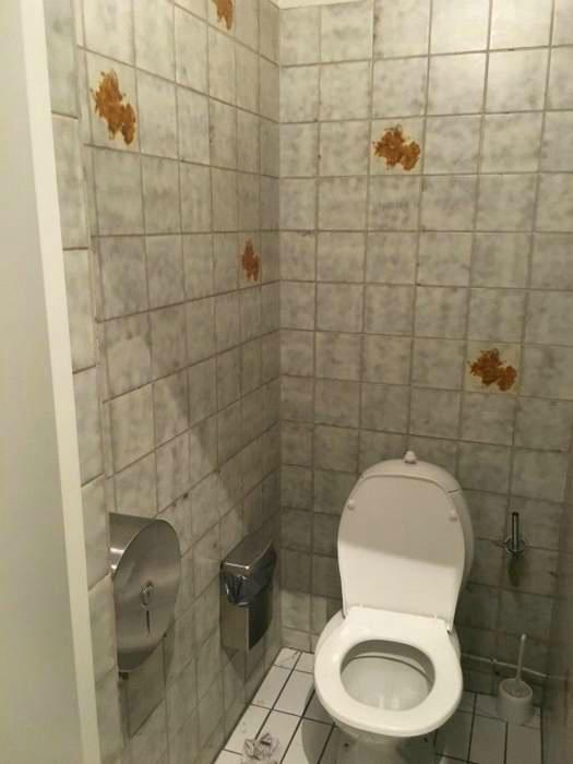 Подозрительный дизайн туалета. | Фото: Pinterest.