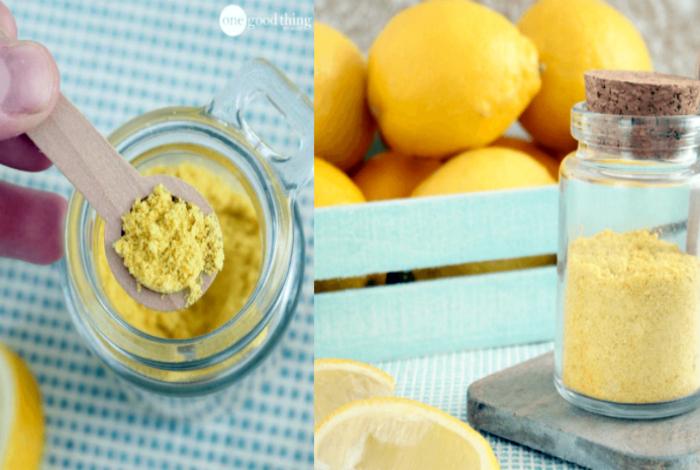 Приправа из лимонной цедры.