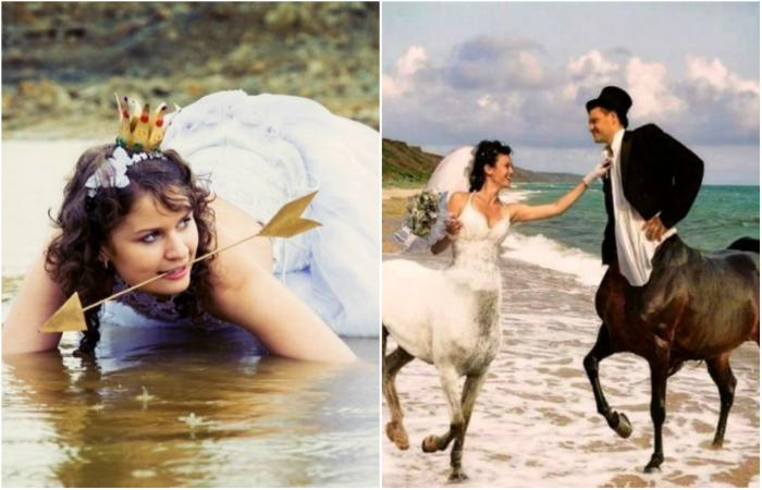 Самые провальные свадебные снимки.