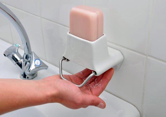 Дозатор для твердого мыла.| Фото: Pinterest.
