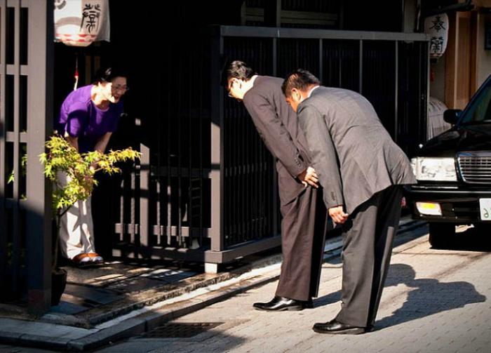 Правила этикета и обслуживания в Японии.