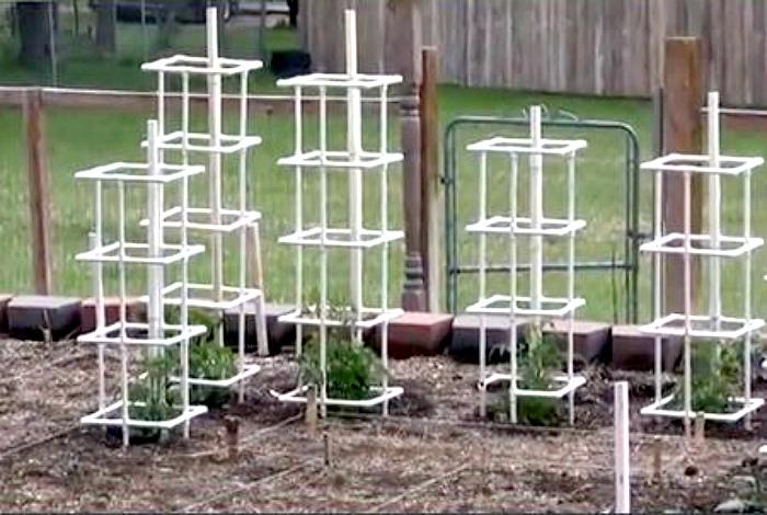 Опоры для растений.