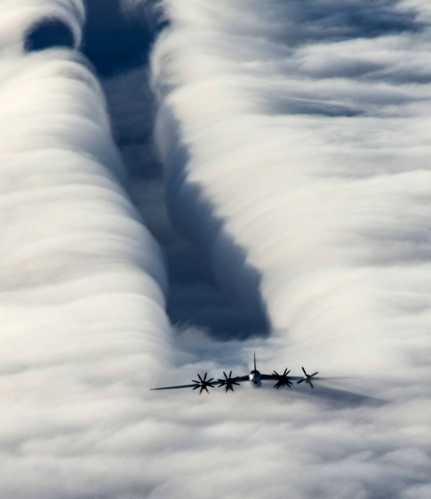 Дорожка меж облаками.