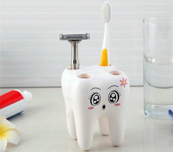 Подставка для зубных щеток. | Фото: Pinterest.