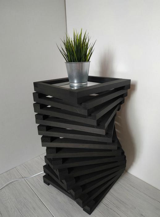 Изогнутая тумба. | Фото: Designbuzz.