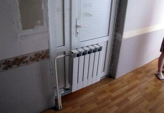 Чтобы дверь не замерзла! | Фото: Ololo.tv.