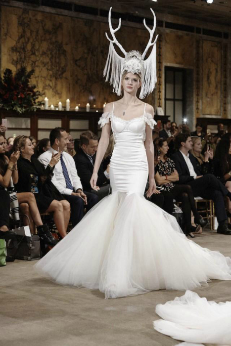 Головной убор невесты.
