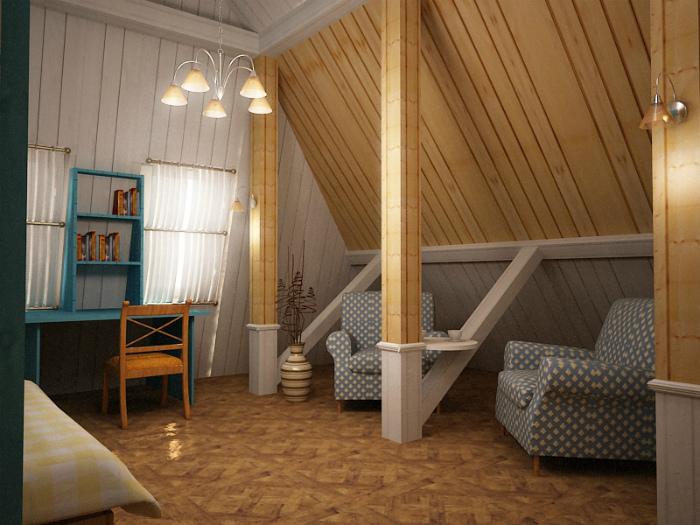 Уютное многофункциональное пространство.