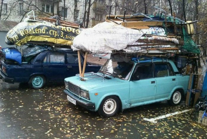 Транспортировка «нужных» вещей.