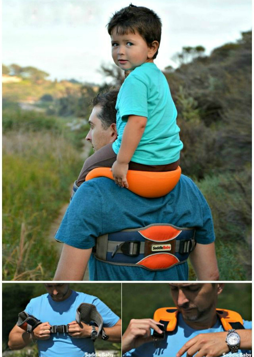 Наплечное седло для ребенка.