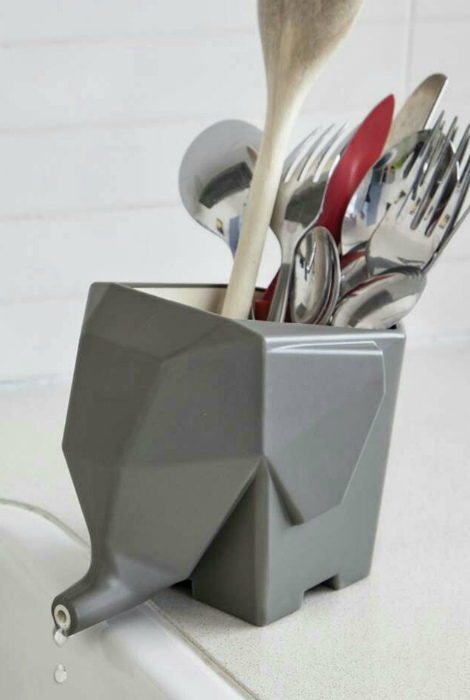Подставка для столовых приборов. | Фото: Фишки.нет.