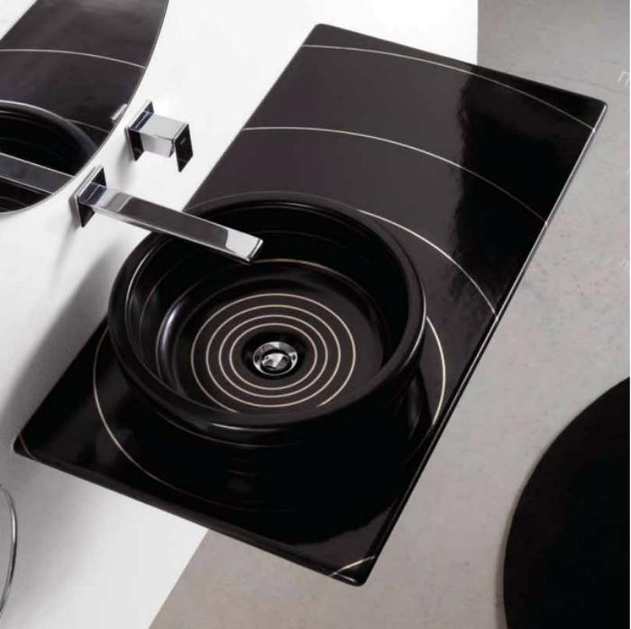Накладная раковина от компании Olympia Ceramica.