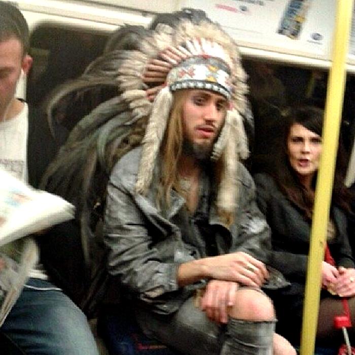 Вождь индейцев.