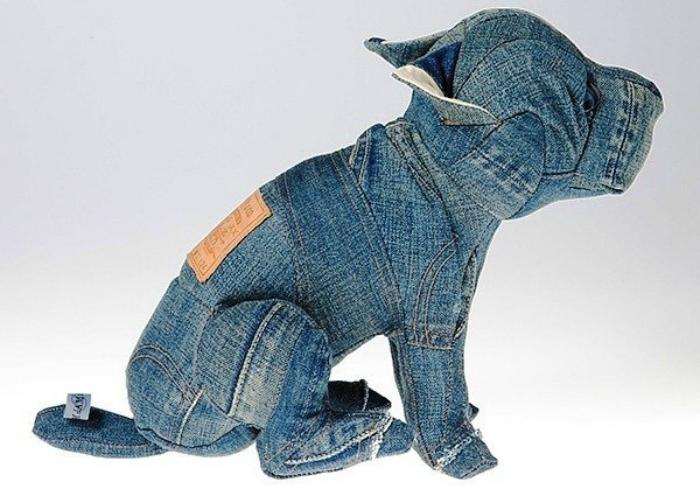 Игрушки из джинсовой ткани своими руками фото