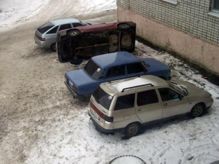 Отличная парковка.